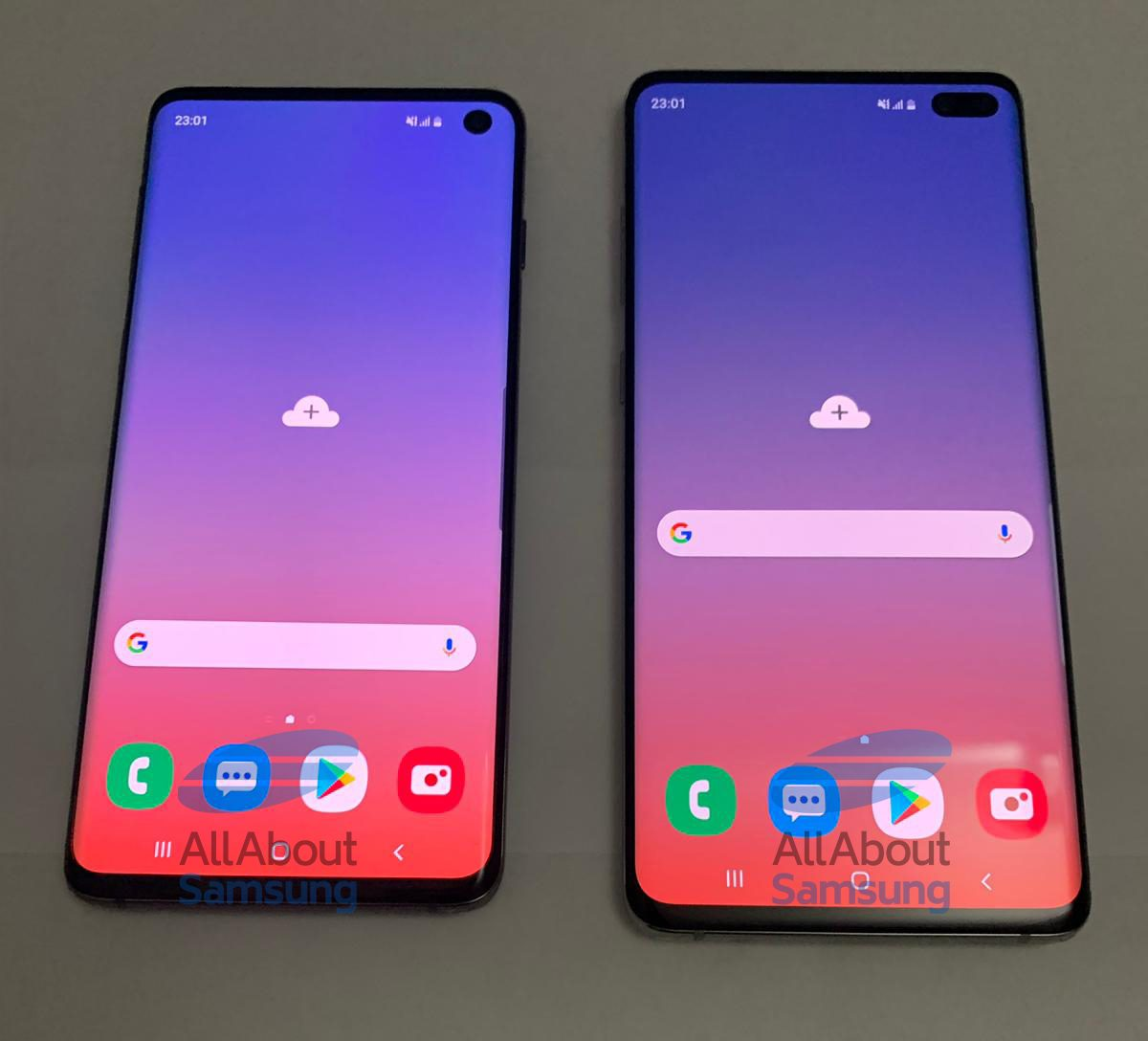 Samsung is less than a month away from announcing Galaxy S10 and Galaxy S10. But, today we get, high-resolution photos of the devices have leaked online giving us a clear look at its design, the Infinity-O display, and their rear camera setup.