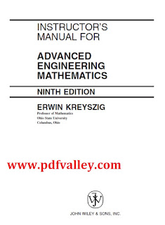 Solutions manual for Advanced engineering mathematics 9th edition