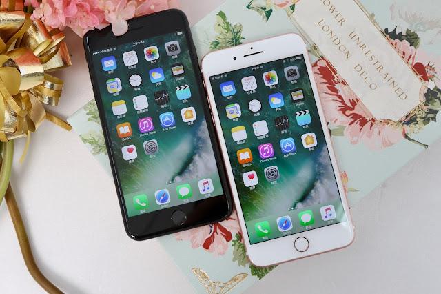Apple iPhone 7  Plus 雙色開箱