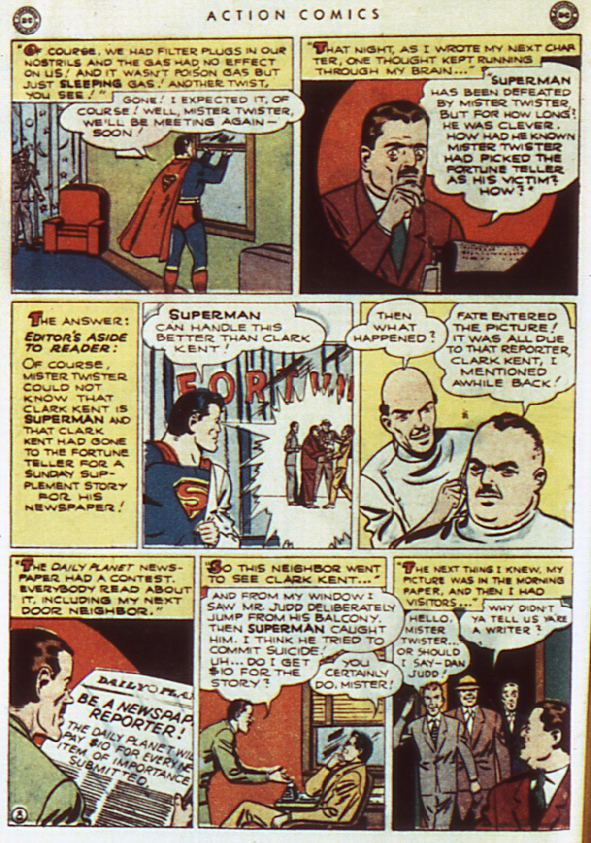 Read online Action Comics (1938) comic -  Issue #96 - 10