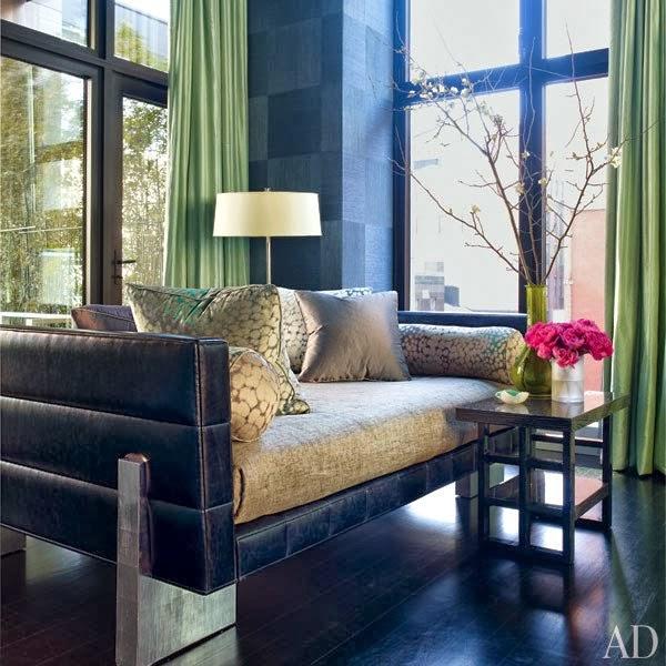 Interior Design For New Home: New Home Interior Design: Jamie Drake's Colorful New York