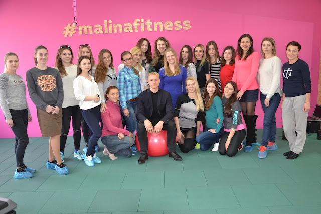 "Лекция ""Стресс, еда и красота"" для фитнес-клуба Малина."