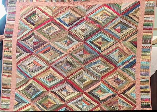 Sue Welton's string quilt