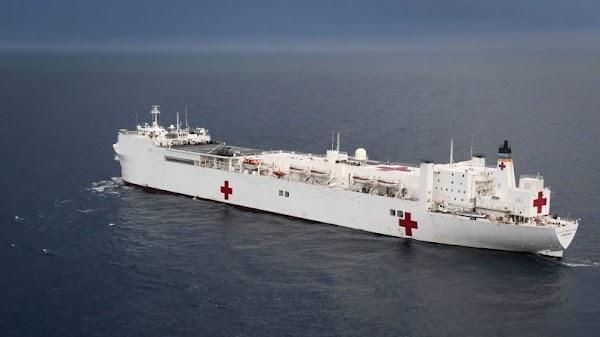 Estados Unidos enviará un buque hospital a las costas de Colombia para ayudar a los exiliados venezolanos