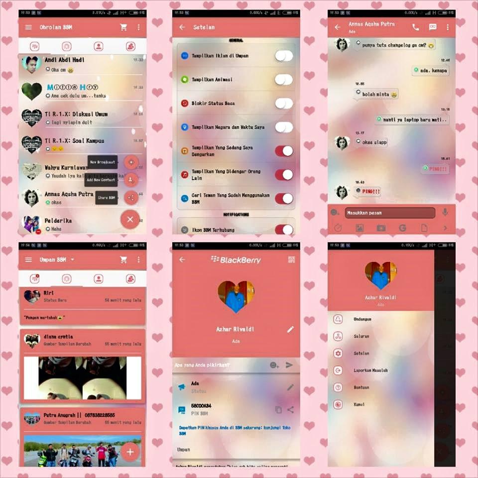 BBM Love Story versi 2.10.0.31