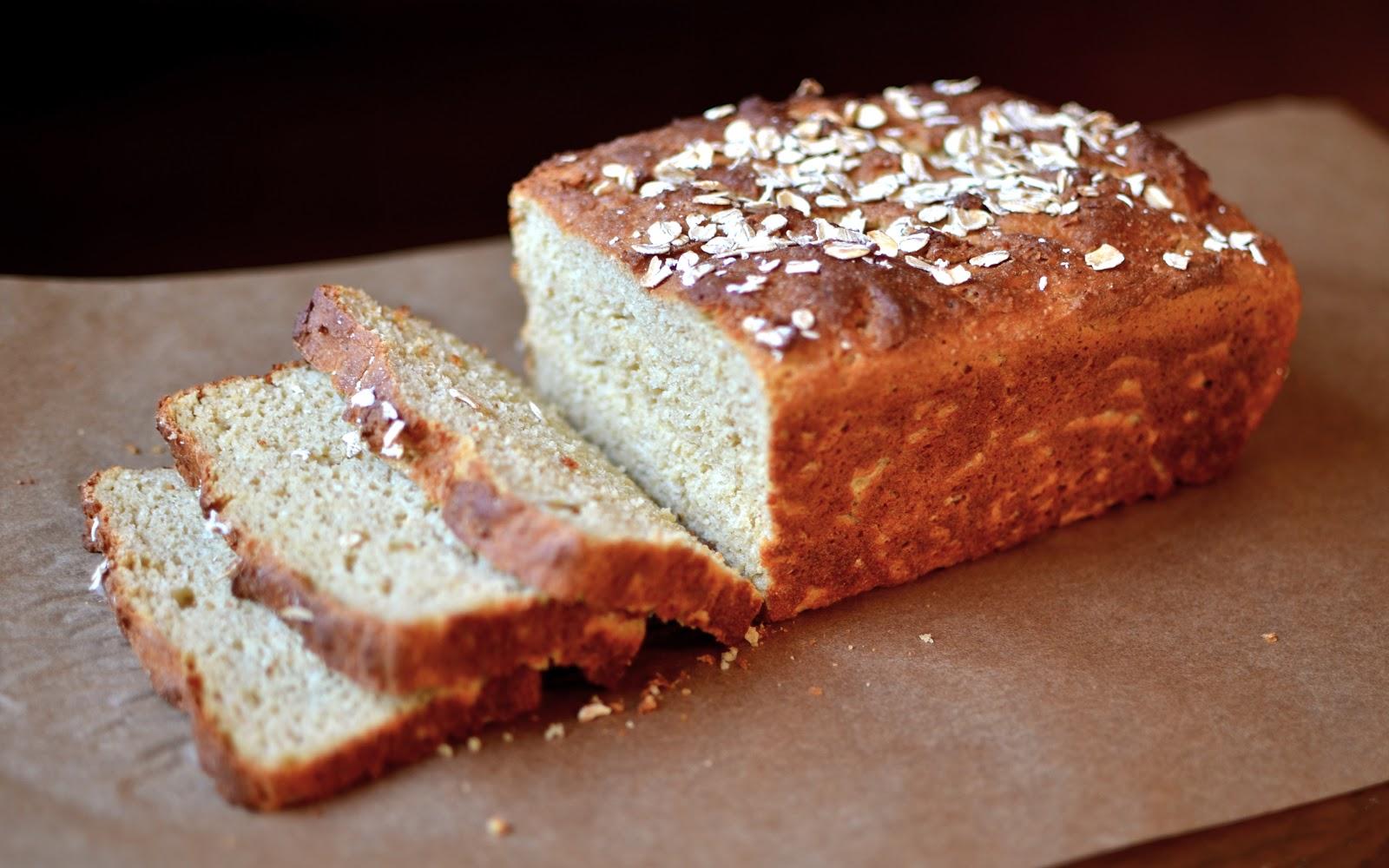 Yammie's Glutenfreedom: Gluten-free Honey Oat Bread