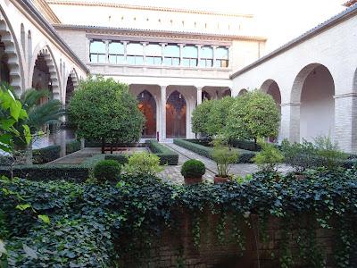 Patio del Palacio de la Aljafería, Zaragoza