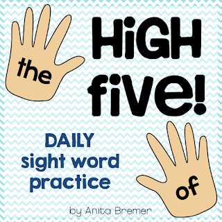 A great activity for daily sight word practice in Kindergarten