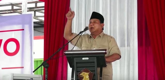 """Prabowo Pasrah Jika Tak Didukung Ulama, """"Kalau Saya Tidak Pantas, Janganlah Didukung"""""""