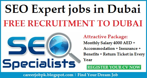 SEO Specialist job vacancies in Dubai