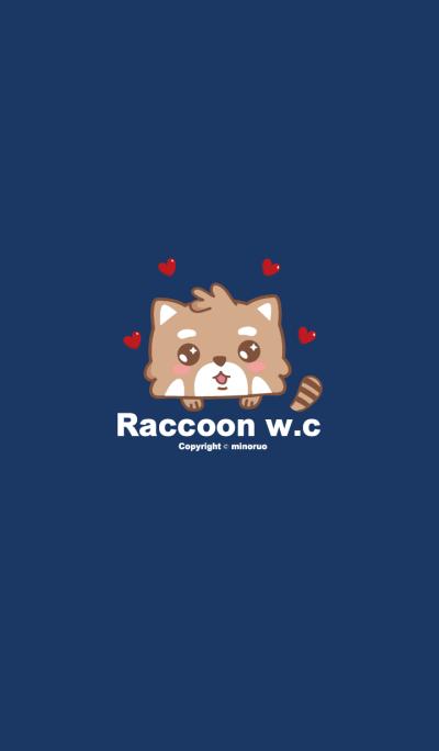 Raccoon w.c