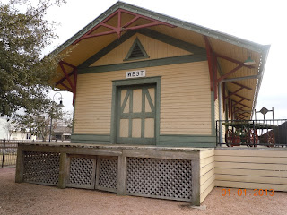 katy railroad depot west texas