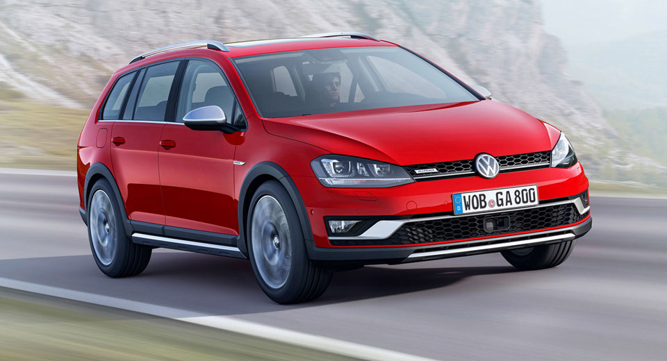 Volkswagen Golf Alltrack Priced From $25850 In The US