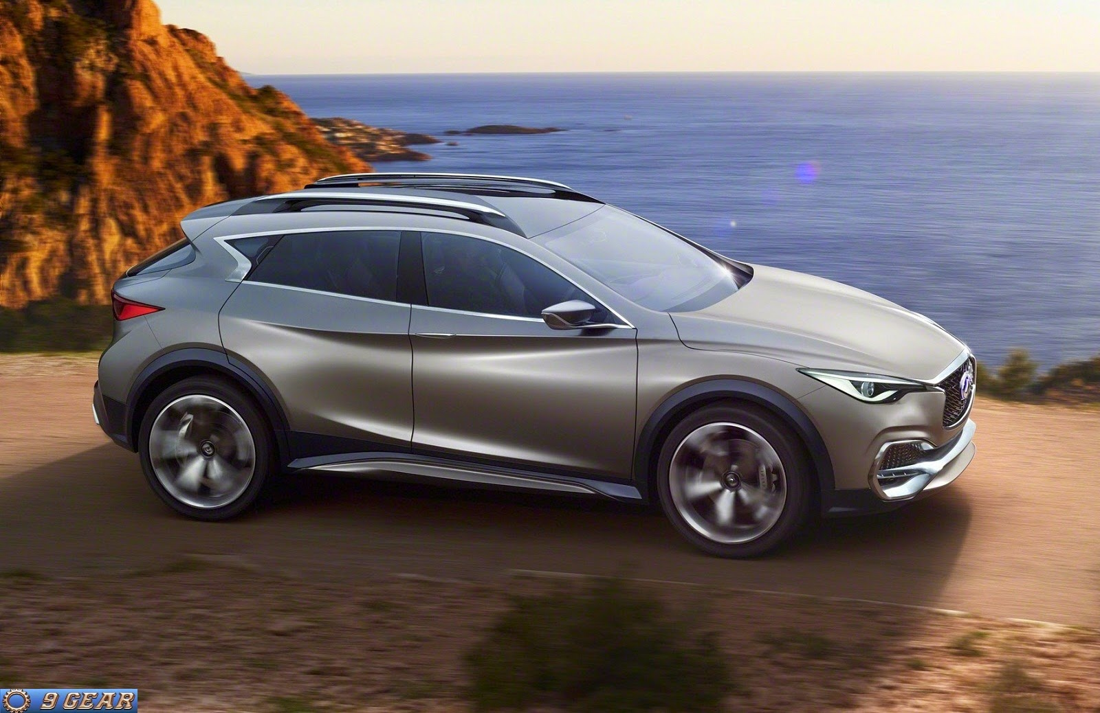 premium compact crossover infiniti qx30 concept car reviews new car pictures for 2018 2019. Black Bedroom Furniture Sets. Home Design Ideas