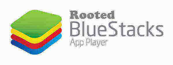 Logo Bluestacks App Player Rooted