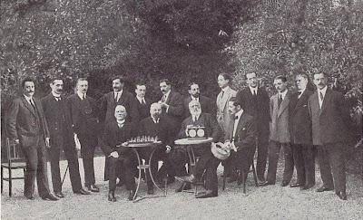 Ajedrecistas participantes en el Torneo de Ajedrez para el Campeonato de Barcelona de 1913
