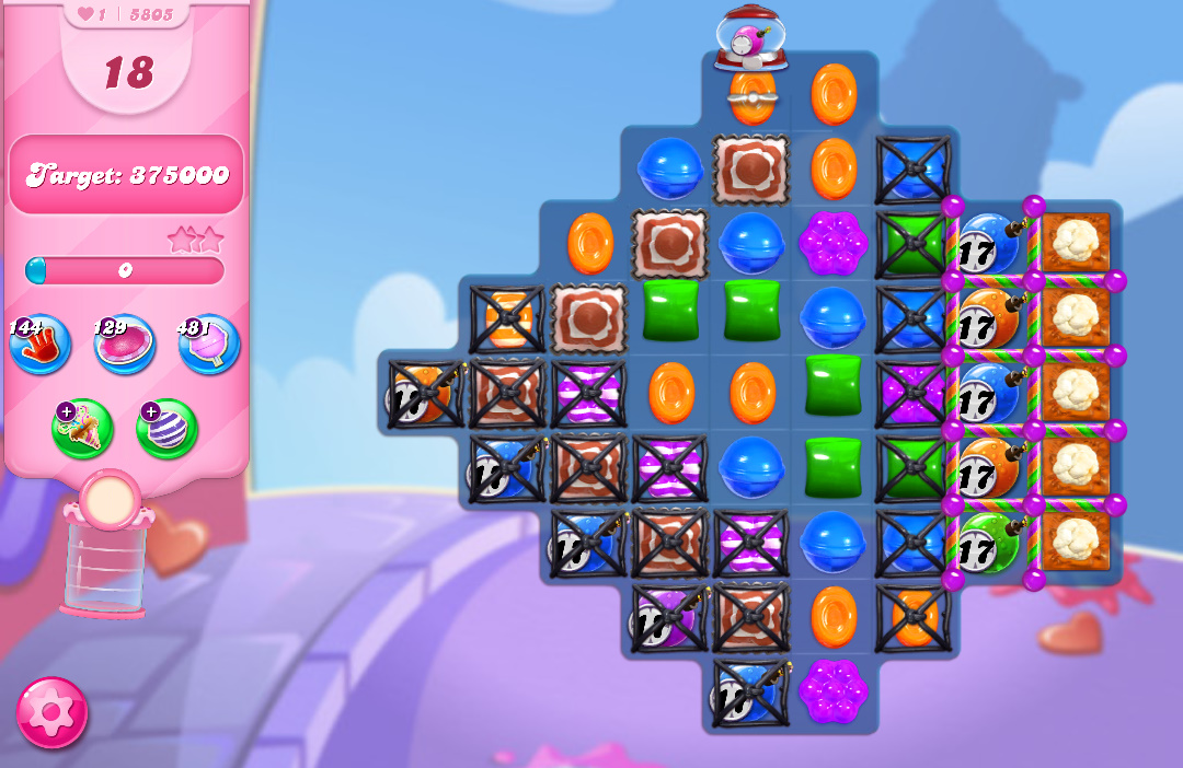 Candy Crush Saga level 5805