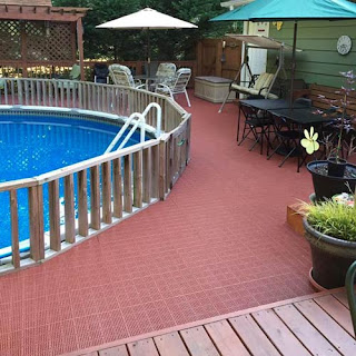 patio outdoor tile pool deck Greatmats