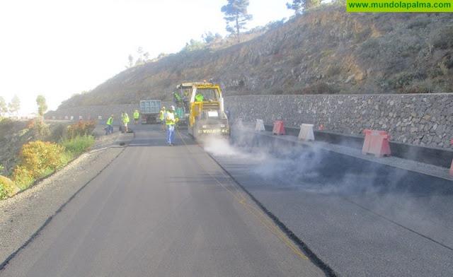 Obras Públicas da un nuevo impulso a la carretera San Simón-Tajuya en La Palma
