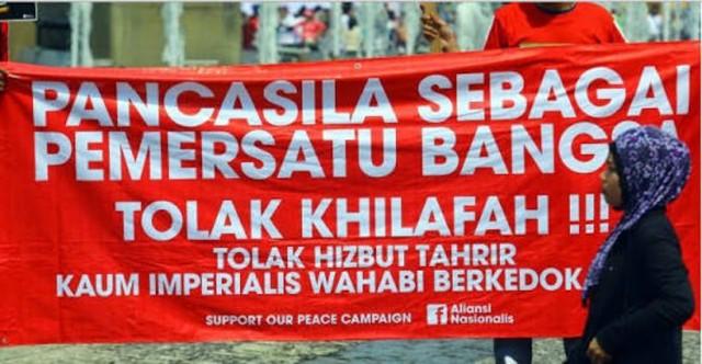 Sah! PTUN Jakarta Tolak Mentah-mentah Gugatan Hizbut Tahrir: HTI Terbukti Berupaya Mengubah Pancasila