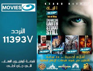 تردد قنوات الأفلام الأجنبى على القمر المصرى نايل سات 2014 Nile Sat