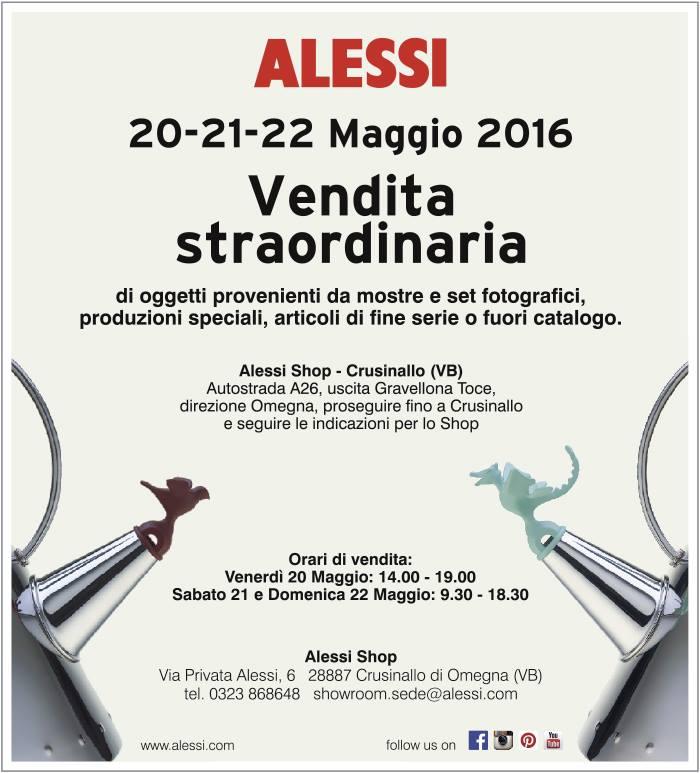 4bildcasa vendita straordinaria alessi for Alessi prezzi catalogo