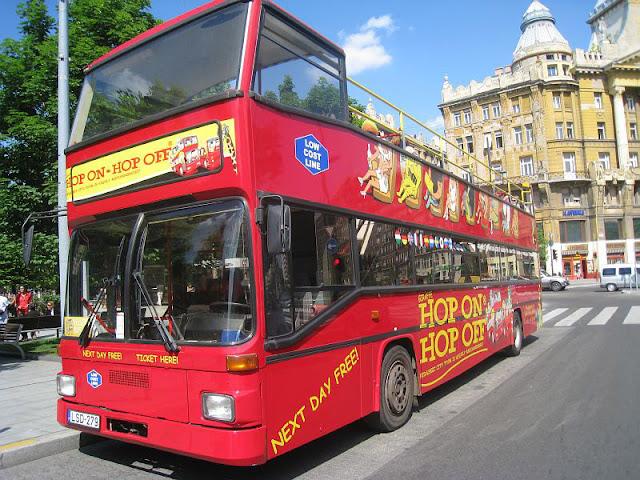 Passeio em ônibus panorâmico por Budapeste
