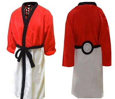Pokeball Bathrobe