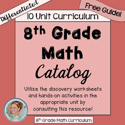Free to Discover 8th Grade Math | Free to Discover