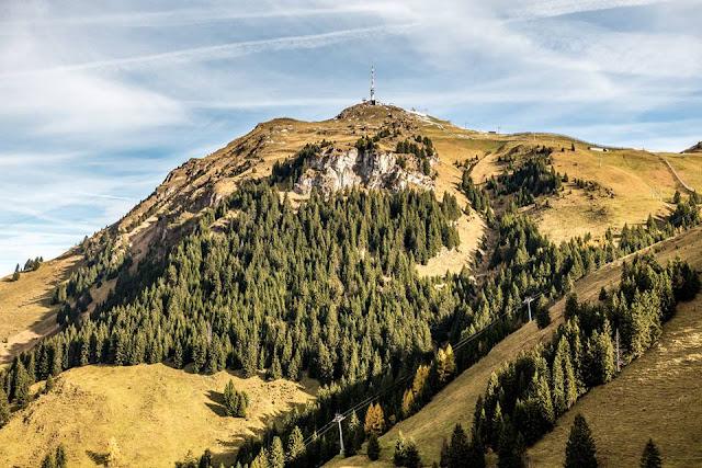 Panoramafoto Kitzbühler Alpen