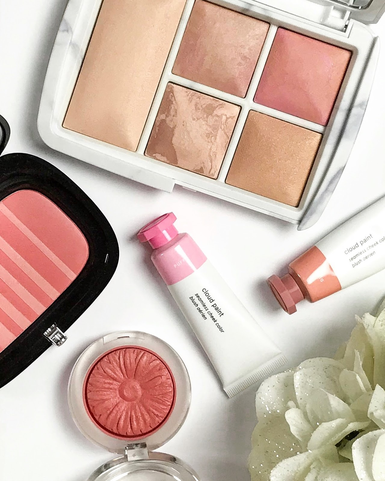 the lazy girl's guide to blush blog post