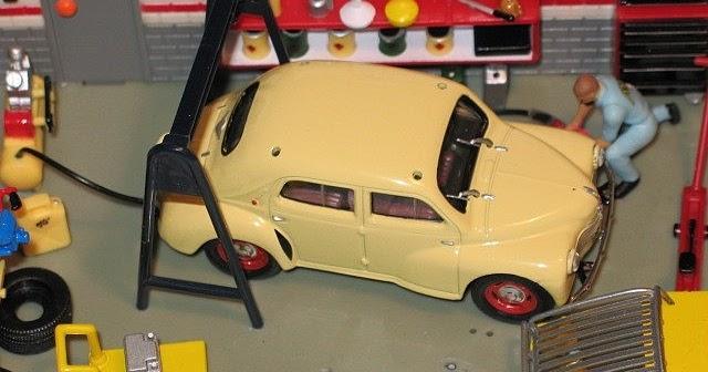 garage de poche jip u00e9  4cv 1947