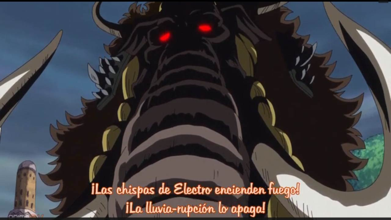One Piece Anime cap 759 sub español