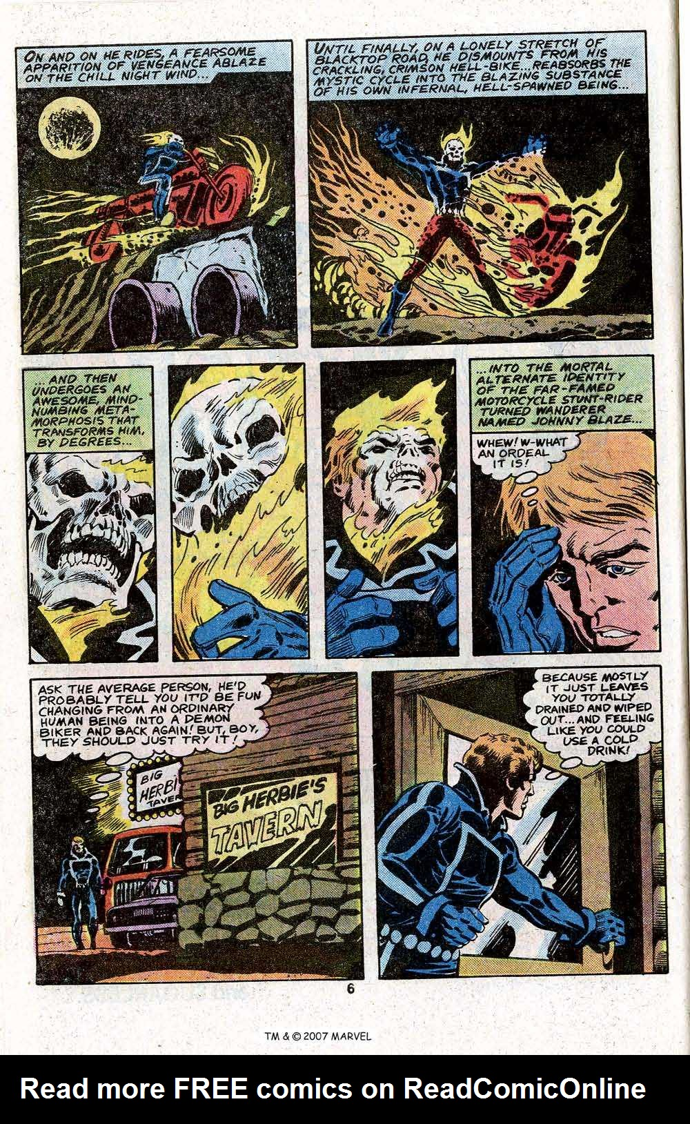 Ghost Rider (1973) Issue #45 #45 - English 8