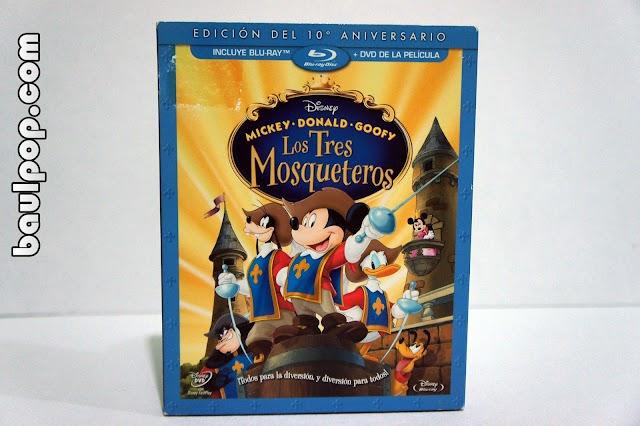 Mickey, Donald, Goofy: Los Tres Mosqueteros