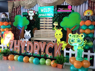 Affordable Safari Stage Decor in Cebu