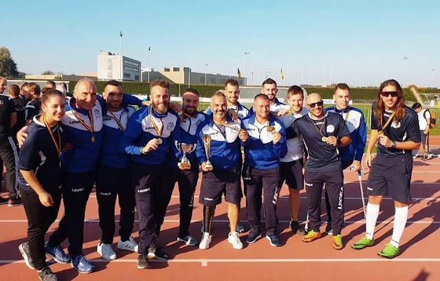Συγκίνηση: Η Εθνική Ελλάδος Ακρωτηριασμένων Ποδοσφαιριστών κατέκτησε το κύπελλο στο διεθνές τουρνουά Amp Football Weekend