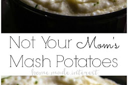 Not Your Mom's Mashed Potatoes