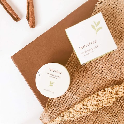 [REVIEW] Innisfree Green Tea Lip Sleeping Mask*