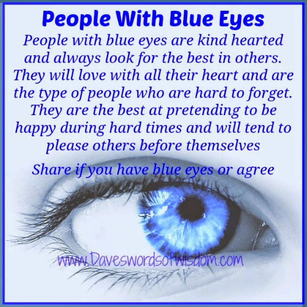 Blue Eyed People 28