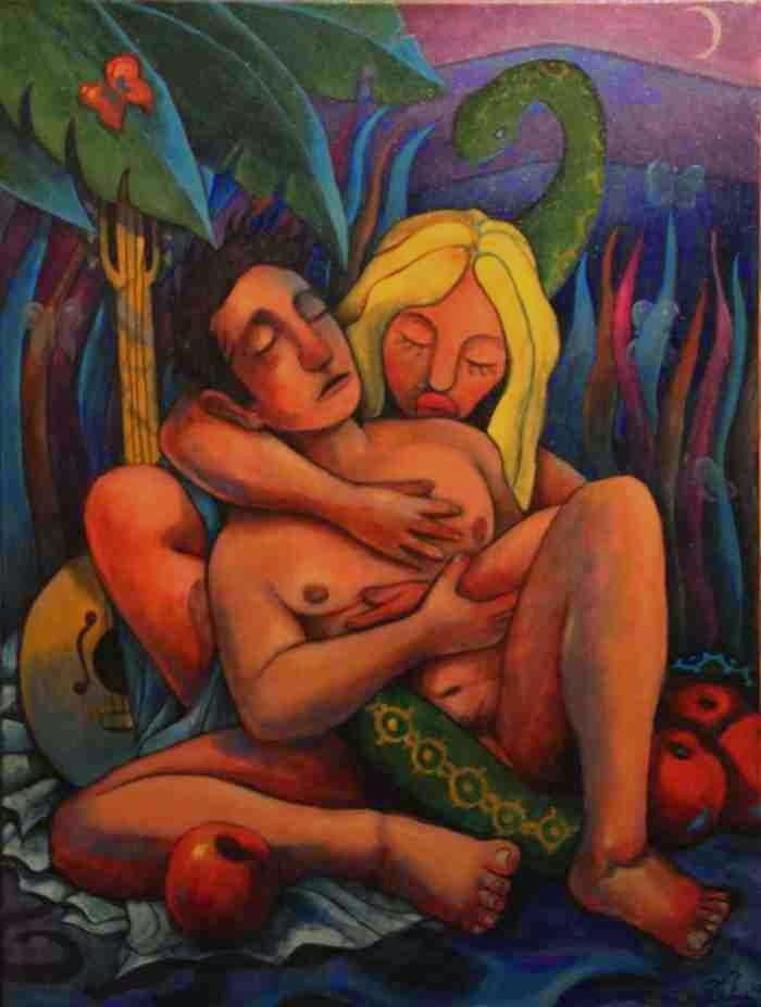 Современный испанский художник. Ricardo Munoz