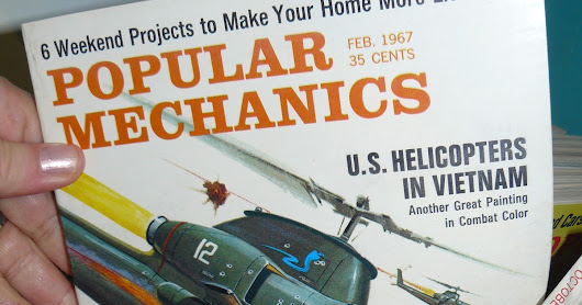 1960's Popular Mechanics, Popular Science, Mechanix Illustrated vintage Magazines at Scranberry Coop Antique Store, Andover NJ,booth 16