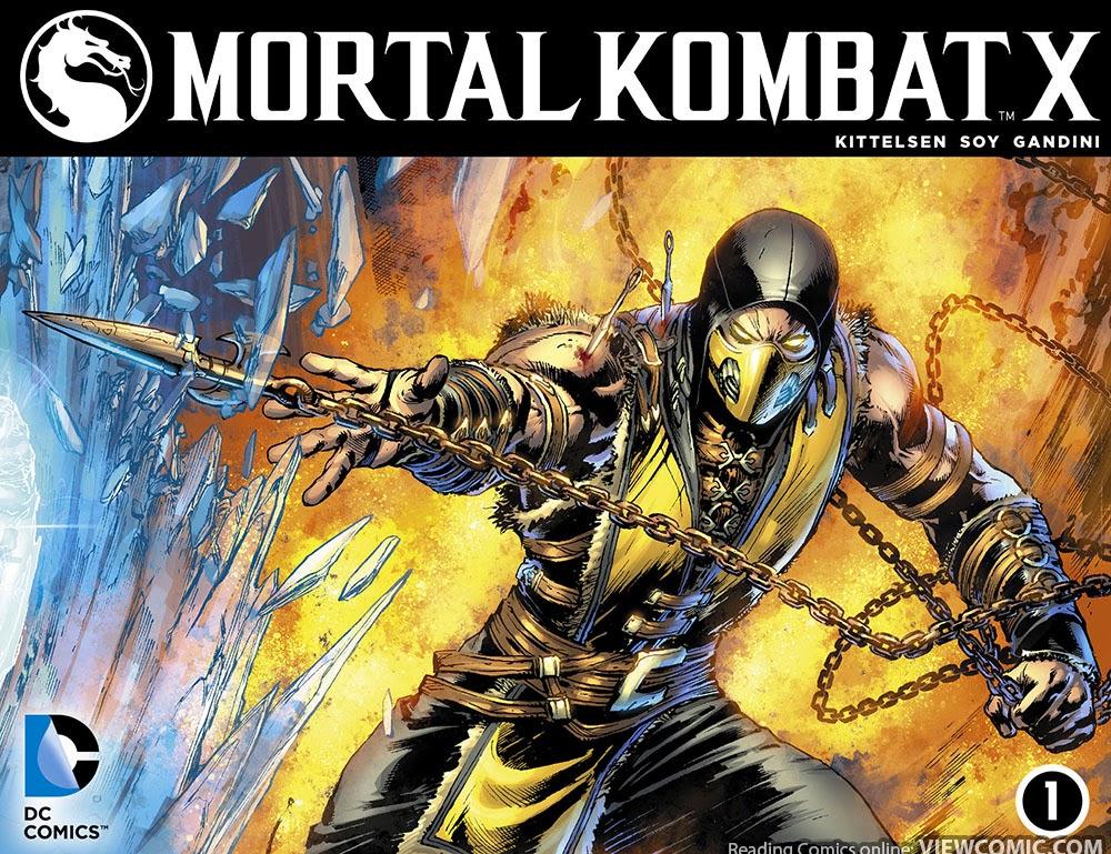 Mortal Kombat porno komiksy