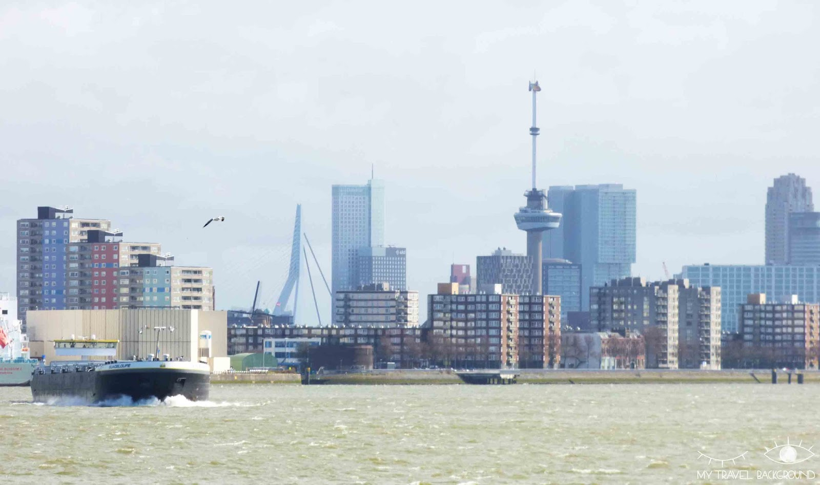 My Travel Background : pourquoi je suis tombée amoureuse de Rotterdam - Le port de Rotterdam