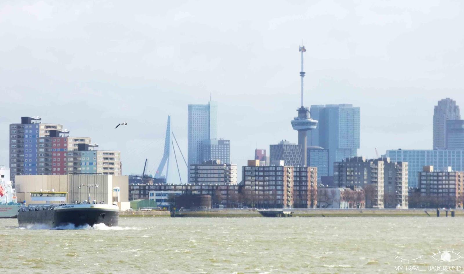 My Travel Background : pourquoi je suis tombée amoureuse de Rotterdam - Le port de Rotterdam