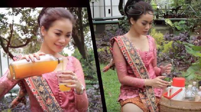 Alya Dior Penjual Jamu Gendong