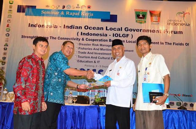 Walikota Padang Asal PKS Ini Terpilih Jadi Ketua Indonesia-IOLGF