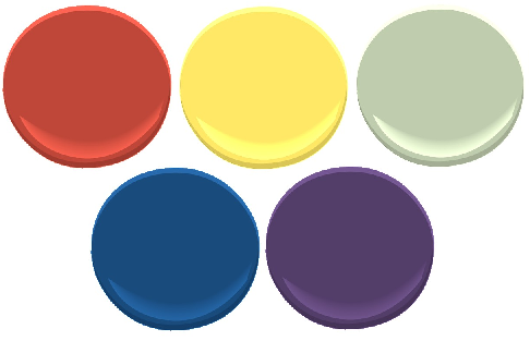 Color Compositions Discussing Color Decor And Paint My