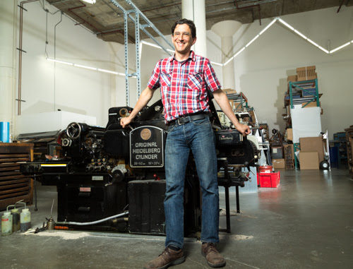 Stop the presses!: Meet Joel Benson of Dependable Letterpress