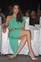 Actress Isha Koppikar Pos in Green Dress at Keshava Telugu Movie Audio Launch .COM 0021.jpg